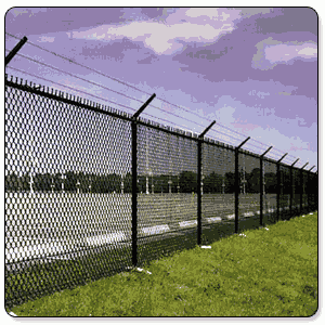 Chain Link Fencing In Munger