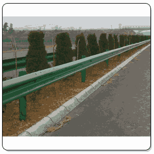 W Beam Highway Crash Barrier In Lakhimpur